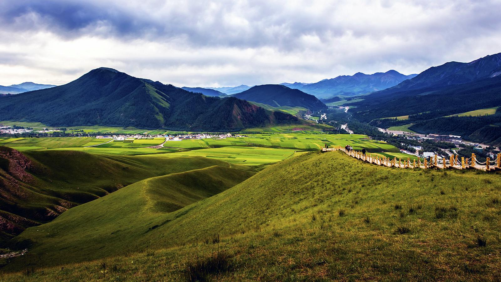 青海湖,祁连卓尔山,门源油菜花精品双卧四日游,西宁