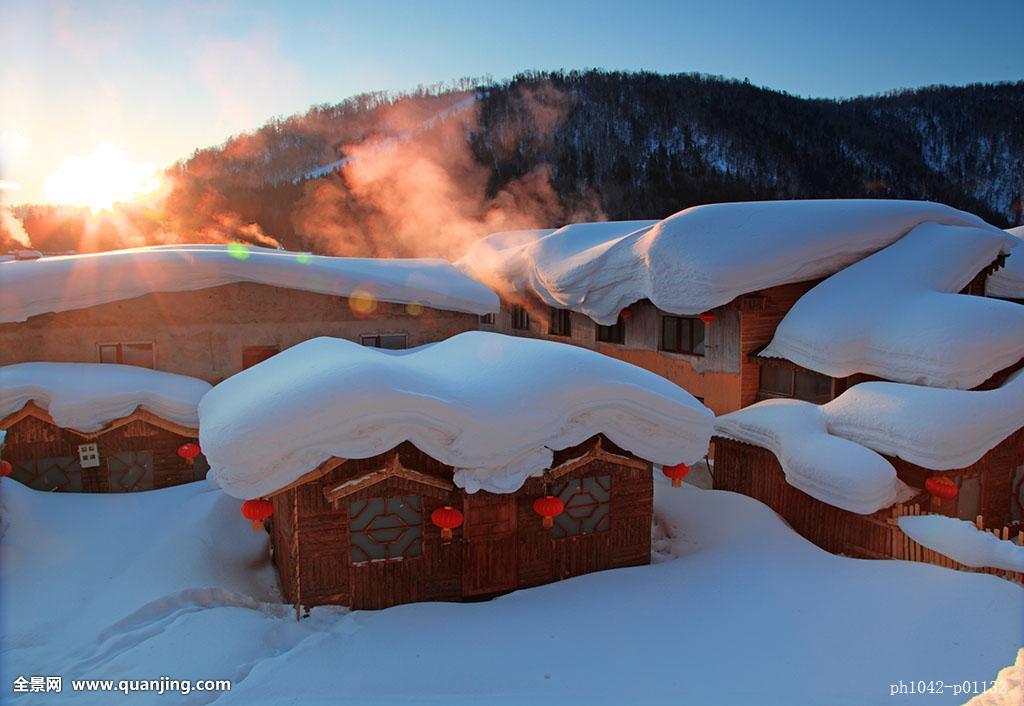 哈尔滨,亚布力滑雪,五星森林温泉, 知青庄园
